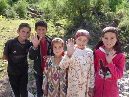 Sourire tadjiks