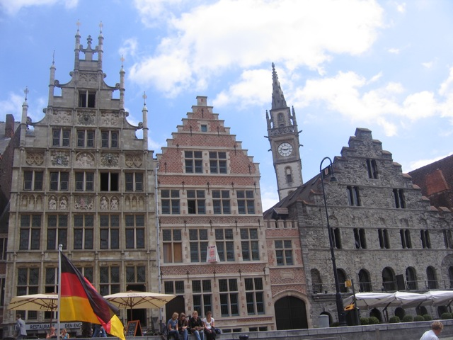De courtrai gand 12 ao t 2009 a pied v lo en ne for Courtrai belgium